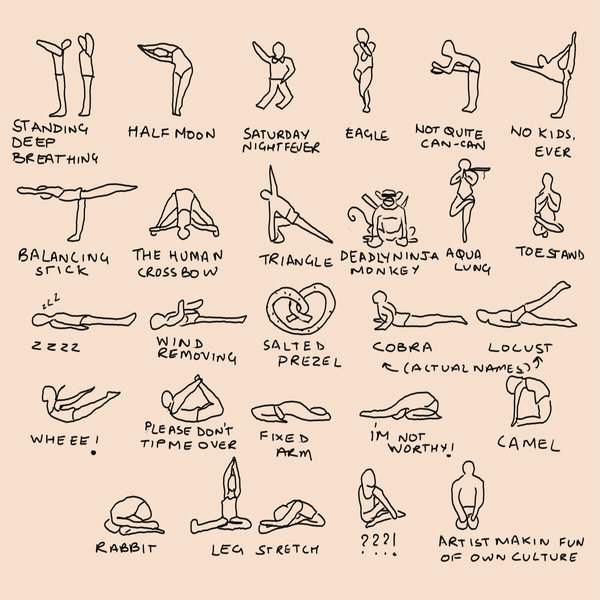 photograph relating to Bikram Yoga Poses Chart Printable called BlueJar - Web page 4